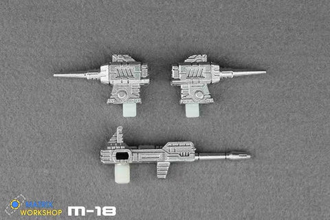 Matrix Workshop M18 M-18 WFC Siege Barricade / Smokescreen Weapon Set Upgrade Kit