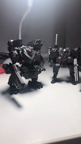 【Pre-Order】Emonster EM-04 Mechanic Boots for Diaclone Power Suit Diaclone Upgrade Kit