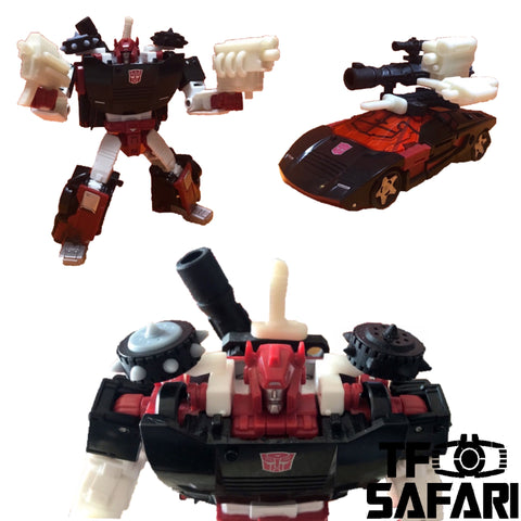 【Pre-Order】ZXB-2 Weapons for WFC Siege G2 Black Sideswipe Upgrade Kit (Painted)