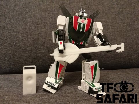 【MTO】Starscream Studio SSC05 Uprade Kit ( IDW Guitar Set ) for MP Jazz / Wheeljack Upgrade Kit