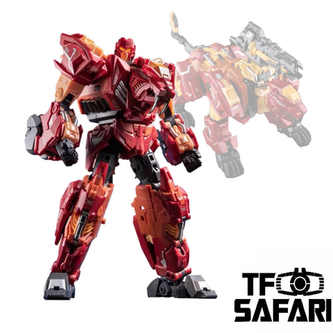 Cang Toys Cang-Toys CT-Chiyou-01 Ferocious (Rampage, Feral Rex) Predaking Combiner 23cm / 9""