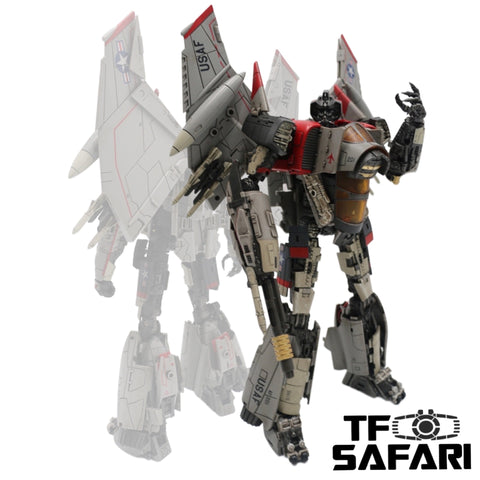 【Incoming】Mechanical Alliance SX-01 SX01 Thunder Warrior ( Bumblebee Movie Blitzwing) 27cm / 10.5cm