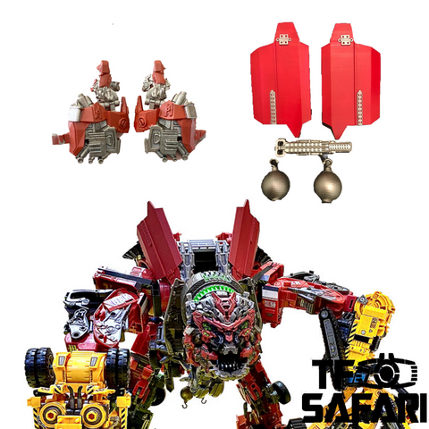 【Incoming】Juqi Toys JQ01 Upgrade Kit for Studio Series Devastator Combiner Upgrade Kit