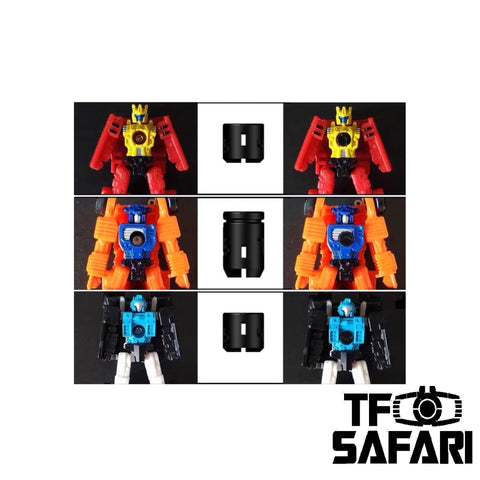 Shockwave Lab SL66 SL-66 Chest Gap Fillers for WFC Siege Micromasters Upgrade Kit