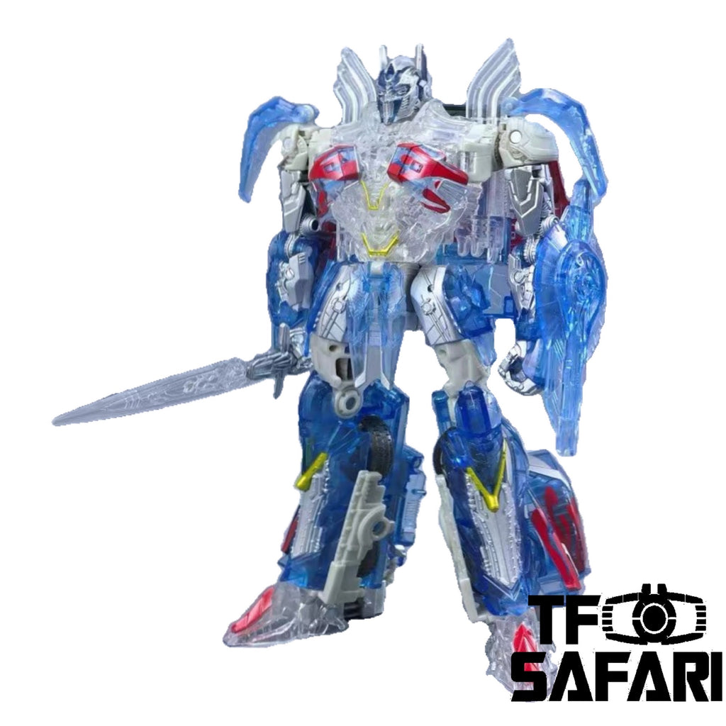 Takara Tomy Bayverse TLK-EX Optimus Prime Clear Version Japan 7-11 Limited Version