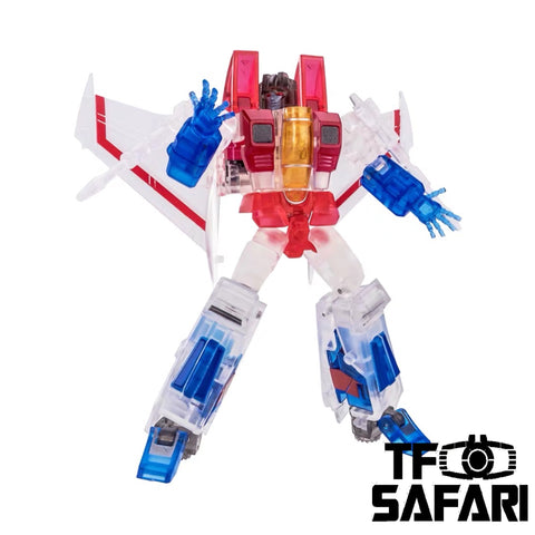NA NewAge H13T H-13T Lucifer (Starscream) Ghost Version (Transparent) New Age 9cm / 3.5""