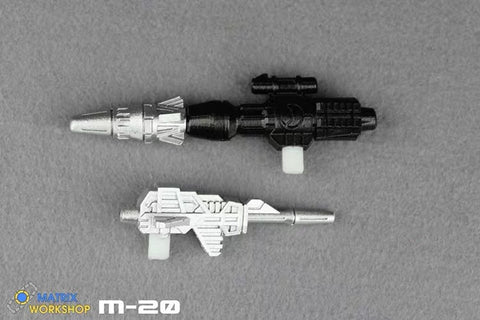 Matrix Workshop M20 M-20 WFC Siege Deluxe Mirage Weapon Set Upgrade Kit