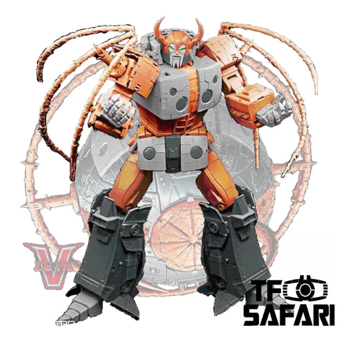 【Pre-Order】Zeta Toys ZT ZV-02 Core Star ( Unicron / Lord of Chaos)
