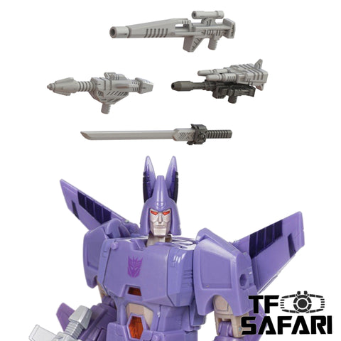 【Pre-Order】Matrix Workshop M-48 M48 Weapon set for WFC Kingdom Cyclonus Upgrade Kit (Painted)