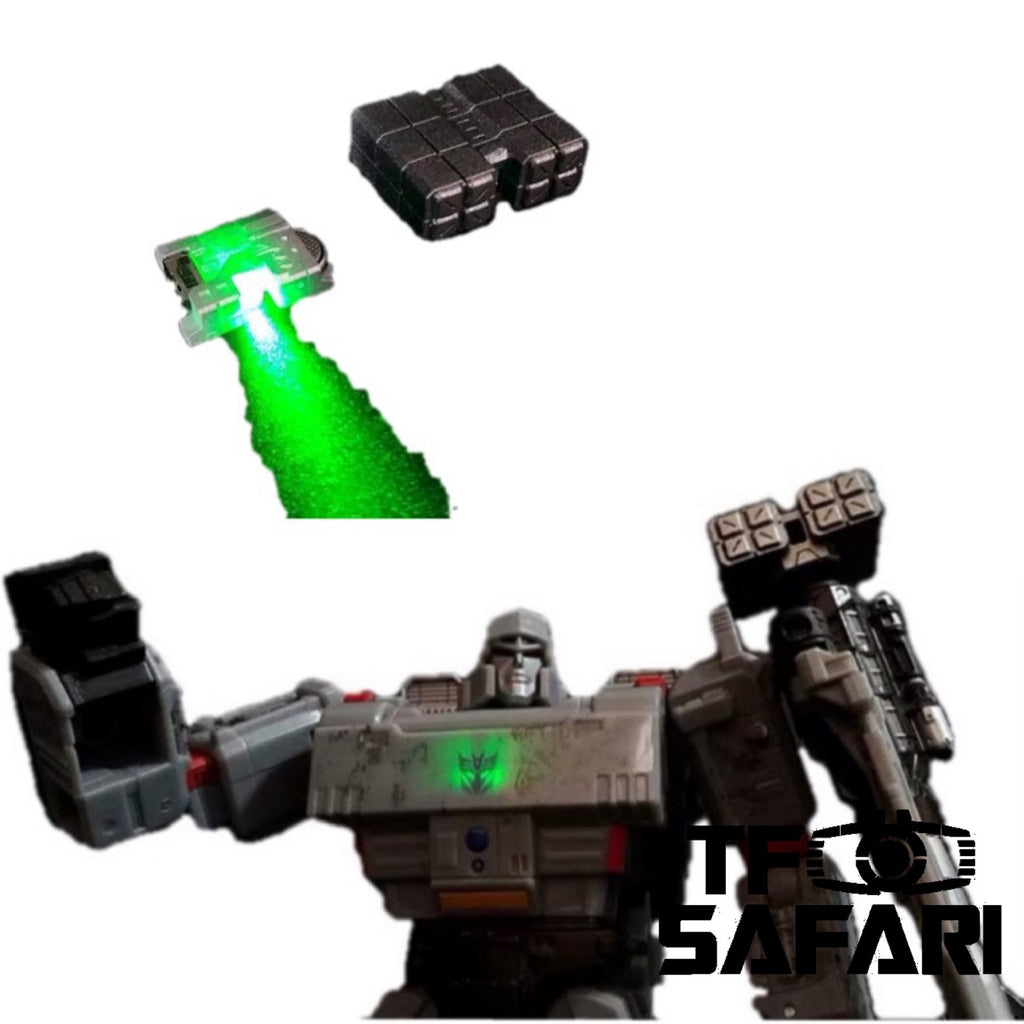 Shockwave Lab SL-48 SL48 LED Upgrade Kit for Siege Megatron (Voyage Class) Upgrade Kit