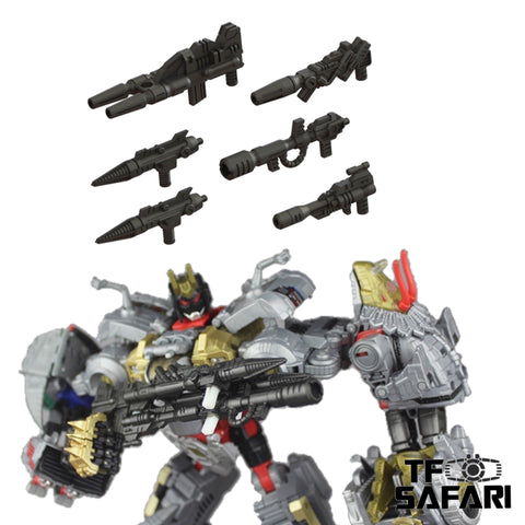 【Pre-Order】Matrix Workshop M-28 M28 Weapon Set for POTP Volcanicus Upgrade Kit
