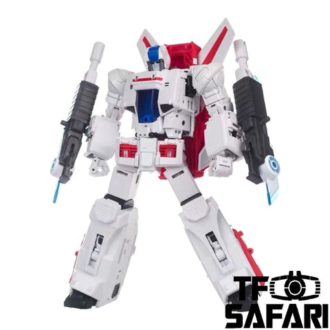 X2Toys XT010 Sky Crusher (Jet fire) Reissue Version 25cm / 10""