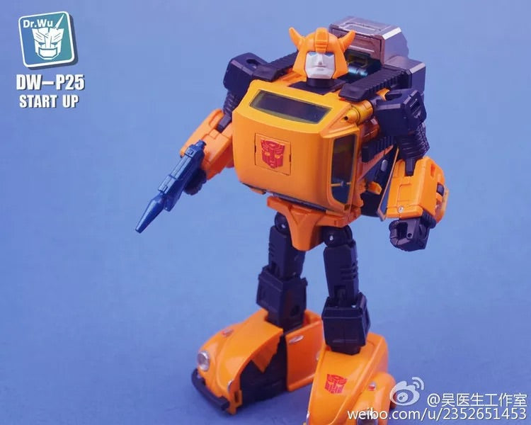 Dr.Wu DW-P25 Start Up Upgrade kit for MP21 BumbleBee Stock