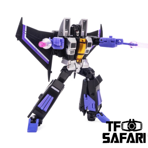 【Incoming】NA NewAge H15 H-15 Samael ( Skywarp ) New Age 9cm / 3.5""