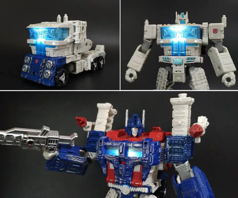 Shockwave Lab SL-54 SL54 LED Chest Light for Siege Ultra Magnus (Voyage Class) Upgrade Kit.