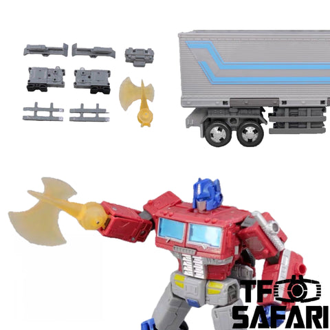 【Pre-Order】ZXB-01B Upgrade & Weapon Kits for WFC Earthrise Optimus Prime Upgrade Kit