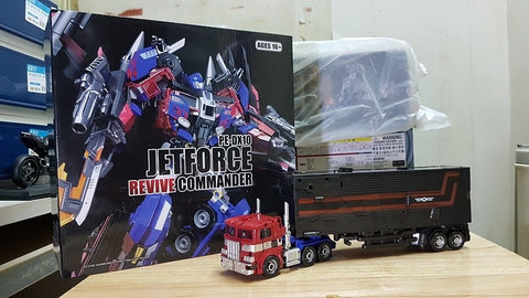 Perfect Effect DX10 Jetpower Revive Prime (Optimus Prime) 24cm / 9.5cm