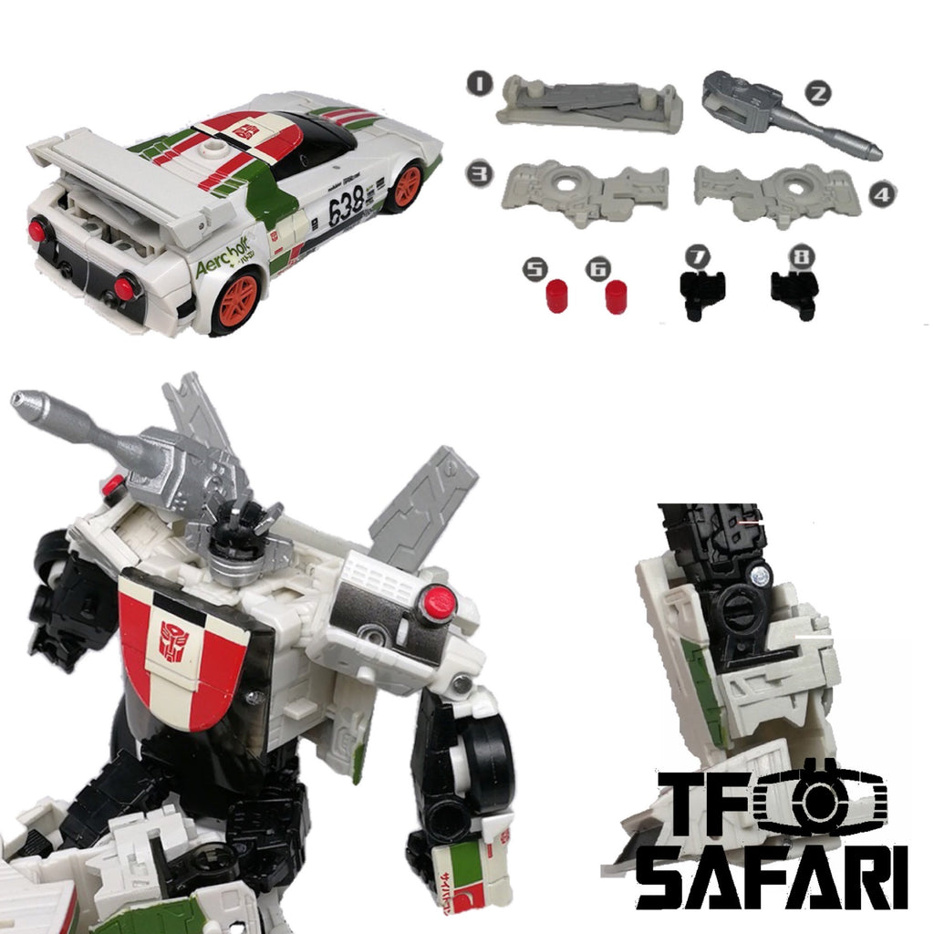Go Better Studio GX-08 Uptrade Kit for WFC Earthrise Wheeljack ( Upgrade Kit+ Gap Fillers)