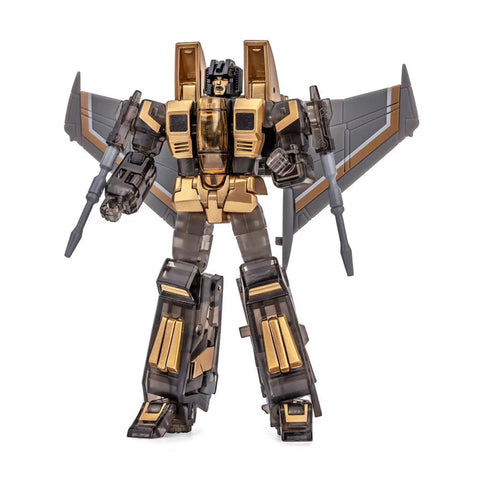 NA NewAge H13D H-13D Hodur ( Starscream Black & Gold Version ) New Age 9cm / 3.5""