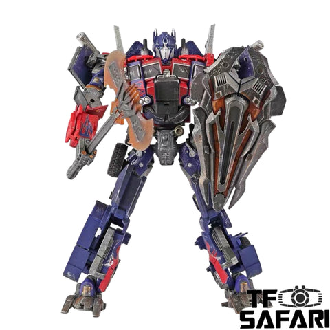 4th Party WJ M01D M-01D Oversized OP (AOE Evasion Mode Optimus Prime) Battle Damaged Version 23cm / 9""