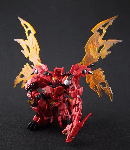 Iron Factory IF EX-42 EX42 Heatdeath BW2 Red Dragon (Transmetal 2 Megatron) 12cm / 4.75'