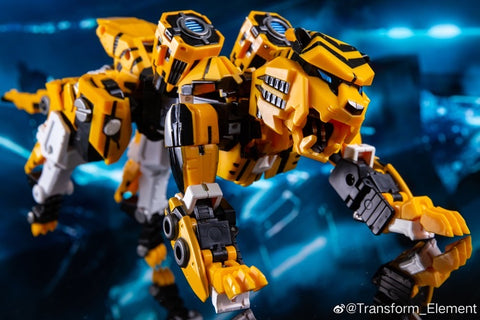 Transform Element MM-01 MM01 YS-01 YS01 Interstella Wasp Tiger (T-Beast Bumblebee) 17.5cm / 6.5""