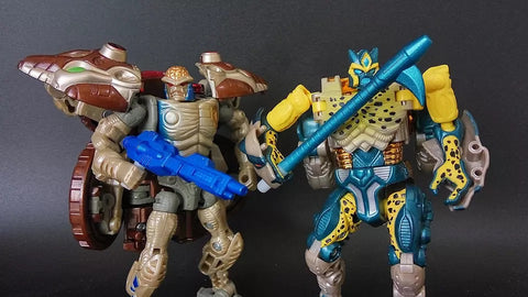 Shockwave Lab SL-32 SL32 Weapons for Beast Wars Transmetal Rattrap & Cheetor Upgrade Kit