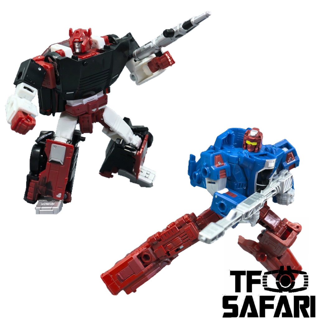 Transformers War for Cybertron Deluxe Siege WFC-S26 Autobot Alphastrike Counterforce 3 in 1 Pack