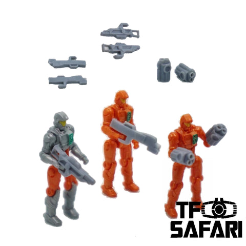 【Pre-Order】FEITE FTDC-01 6 in 1 Weapons for Dia-Nauts (Diaclone Personnels ) Diaclone Upgrade Kit