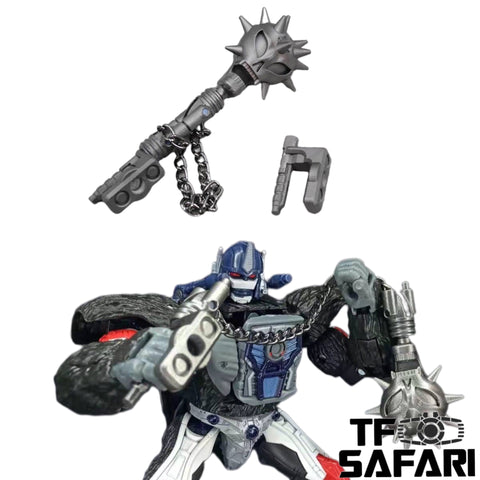 BDT Studio  BDT-08 Meteor Hammer for WFC Kingdom Optimus Primal Upgrade Kit