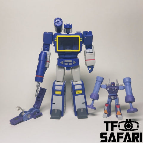 Magic Square MS-Toys MS-B27 MSB27 Voice Ripple (Soundwave Legends Class) 11cm / 4.3""
