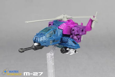 Matrix Workshop M27 M-27 for WFC Siege Spinister Weapon Set Upgrade Kit
