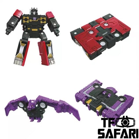 Transformers War for Cybertron Siege Spy Patrol WFC-S46 Ratbat + Rumble 2 in 1 set