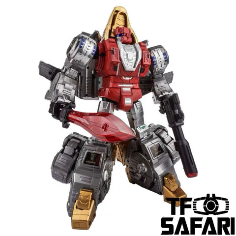 GigaPower GP HQ-02 HQ02 Grassor (Slag) Metallic Version 28cm / 11""