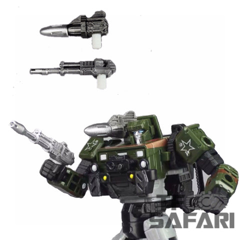 Matrix Workshop M03 M-03 WFC Siege Hound Weapon Set Upgrade Kit