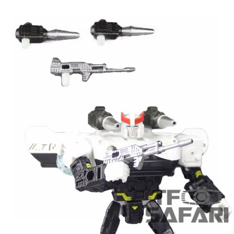 Matrix Workshop M11 M-11 WFC Siege Prawl Weapon Set Upgrade Kit