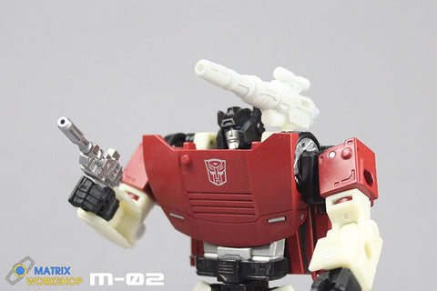 【In coming】Matrix Workshop M02 M-02 WFC Siege Sideswipe Weapon Set Upgrade Kit