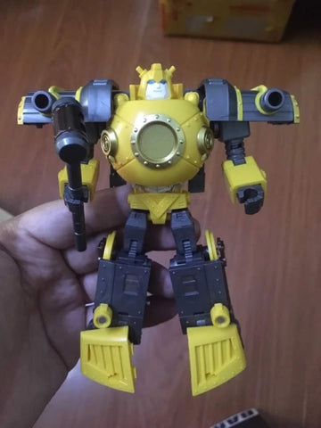 Mech Planet Hot Soldiers HS-14 HS14 Iron Hero Steel Heart (Bumble Bee) 12cm