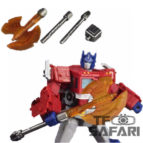 Matrix Workshop M06 WFC Siege SS-38 Optimus Prime(Voyage Grade)Energon Axe Weapon Set Upgrade Kit