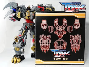 Transform Dream Wave TDW TCW-06 POTP Dinobots (Volcanicus) Upgrade Kit