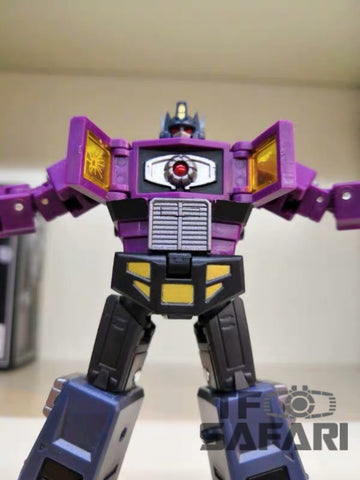 DX9 Toys X34P Dutch Phonas (Optimus Prime Shattered Glass SG with Trailer) Purple Version 10.5cm / 4""