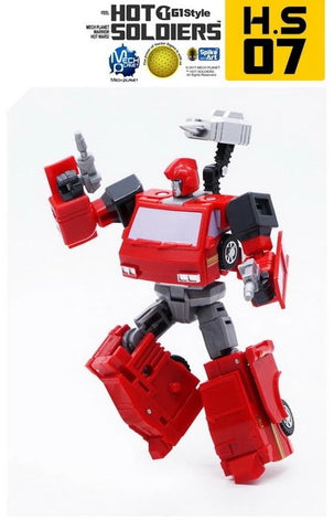 Mech Planet Hot Soldiers HS-07 HS07 Irontin (Ironhide) 10cm