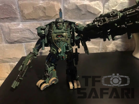 WeiJiang WJ M02 M-02 Robot Force Hound Oversized (Black Apple Alloy Modified version) Wei Jiang 23cm / 9""