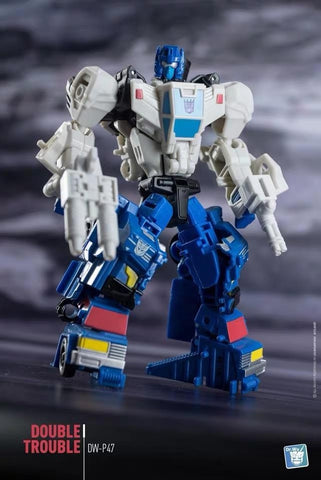 Dr.Wu DW-P47 Double Trouble (Weapons for POTP BattleTrap) Upgrade Kit
