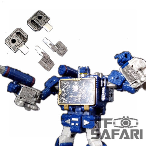 Shockwave Lab SL-51 SL51 Fillers for Siege Soundwave (Voyage Class) Upgrade Kit.