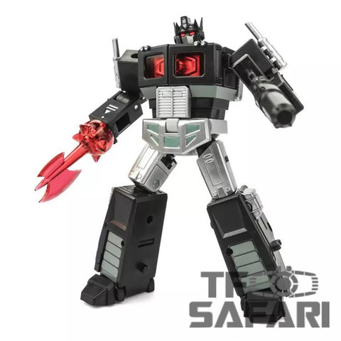 DX9 Toys X34B Plissken (Nemesis Prime w/ Trailer) Black Version 10.5cm / 4""