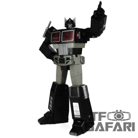 [Pre-Order] Transform Element TE-01B TE01B Masterpiece Nemesis Optimus Prime (MP Size, MP10 ) Black Version 23cm / 9""