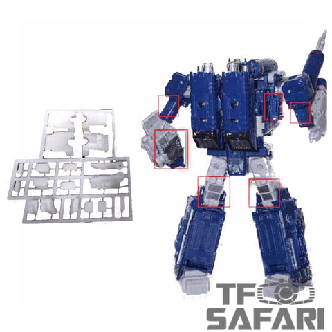 Tim Heada TH001S Gap Filler ( Garage Kit ) for Siege Soundwave Upgrade Kit