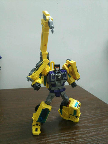 NBK Devastator Yellow TF Engineering Full Set 6 in 1 (GT-01 Devastator) 38cm