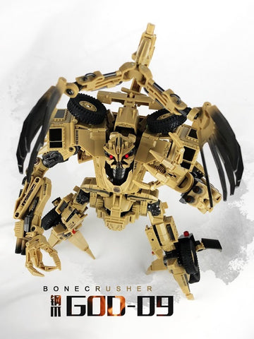 TF Dream Factory GOD-09 GOD09 Bonecrusher (Leader Class) 25cm